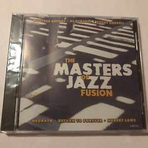 The Masters of Jazz Fusion Jazz CD BRAND NEW & FACTORY SEALED