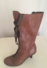 Ladies Boots - Nine West, size 7M NWALAVDA 1005 MID CALF LEATHER UK 5