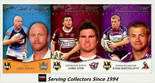 2011 Select NRL Strike Club Player Of The Year Subset Full Set (32)