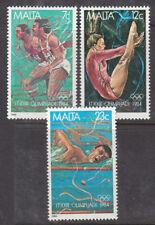 Malta 1984 Olympics set MNH