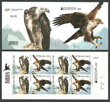 Cyprus Stamps SG 2019 Europa National Birds Booklet MINT