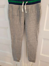 BOYS GREY MINI BODEN SWEATPANTS 10