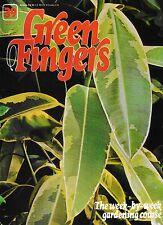 GREEN FINGERS 39. GARDENING MAGAZINE. RHUBARB, ASPARAGUS, FICUS, MAKE A CHAIR