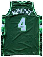 Sidney Moncrief autographed signed jersey NBA Milwaukee Bucks PSA Arkansas