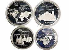 1976 Montreal Olympics Canadian Coin Series 1 Geography