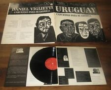 DANIEL VIGLIETTI - Canciones Para Mi America LP Chant Du Monde Folk 73 Uruguay