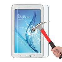 U.S 2 Pack Premium Tempered Glass Screen Protector For Samsung Tab 3/E Lite 7.0