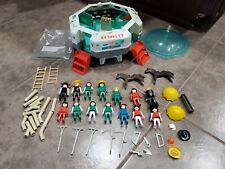 Vintage Playmobil Playmospace 3536 Spaceship, 1974 Geobra 1980 Lot Kid Figuries