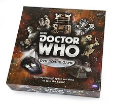 Doctor Who DVD Board Game KIDS FAMILY FUN GAME-GIFT IDEA FOR DOCTOR WHO FAN-NEW