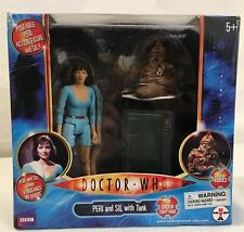 Doctor Who classics Peri and Sil w/ tank Action Figure set Vengeance on Varos