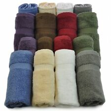 Luxury Hotel & Spa Towel Turkish Cotton (Wash Cloth - Set of 12 Variety Pack)