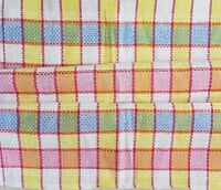 Vintage 'BEACH HUTS' Metis FRENCH TORCHON 1970's Cotton TEA TOWEL