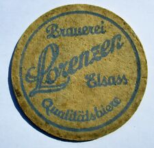 Rare SOUS-BOCK Bière ALSACE Brauerei LORENZEN Elsass