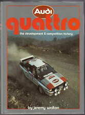 Audi Quattro Development & Competition History Rallying Drivers Specs + Records