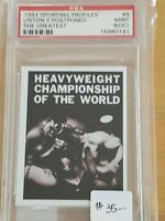 1993 Sporting Profiles Muhammad Ali The Greatest PSA 9 (OC)