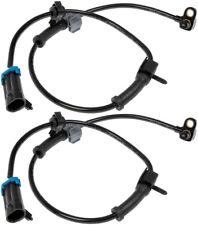 Two Front ABS Wheel Speed Sensors (Dorman 970-011) w/ Wire Harness