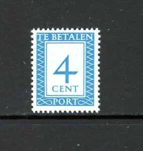 Netherlands 1947 4c VALUE POSTAGE DUE SC J82 MNH