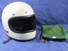 70's Full Face Helmet Motorcycle Bobber Racing Drag Race Car Lining Cafe Racer