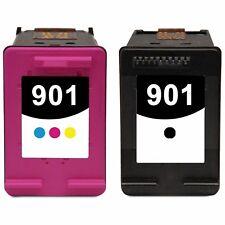 2 tinta HP901 XL OfficeJet 4500 j4500 j4524 j4540 j4550 j4580 j4600 j4624 j4680c