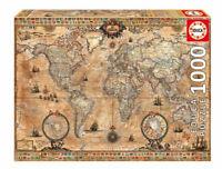 Mapamundi puzzle 1000 piezas Educa 15159