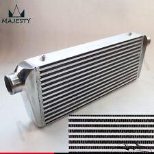 Universal Ladeluftkühler LLK 550x230x76mm 2,5 Zoll 63 mm Bar and Plate Schwarz