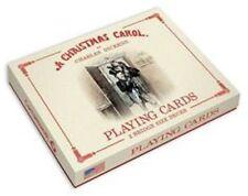 A Christmas Carol Playing Cards 2 Bridge Size Decks New