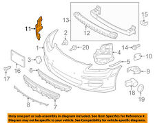 PORSCHE OEM 10-13 Panamera Front Bumper-End Support Left 97050555300