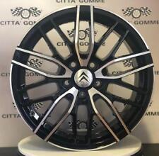 """Cerchi in lega Citroen C4 Grand C4 Picasso DS7 Crossback da 17"""" NUOVI BICOLORE"""