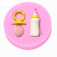 NEW Silicon Fondant Chocolate Cake Mold Mould Decoration BABIES BOTTLE AND DUMMY