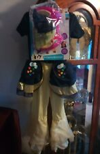 MY LITTLE PONY Movie Deluxe SONGBIRD SERENADE Costume Child M 7-8 Dress Up New .