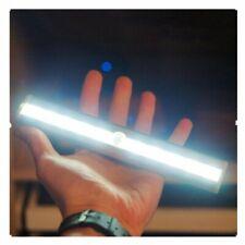 Stickon Motion Sensor Wardrobe Light for Bedroom Cabinet Staircase Kitchen White