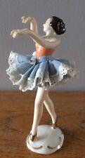 GRAZIOSA, Wilhelm rittirsch, Dresda ARTE, Germania, Pizzo, porcellana ballerina.