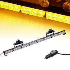 "36"" 32 LED Amber Warn Flash Traffic Advisor Directional Arrow Strobe Light Bar"