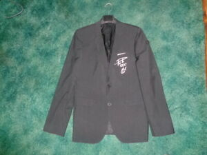 Tom Ellis Screen Worn Jacket Signed with Sketch and COA RARE Lucifer