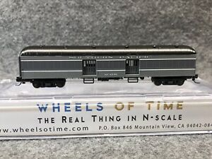 Wheels Of Time  N Southern Pacific 60' Baggage-Express Car w/ Wood Doors #6340