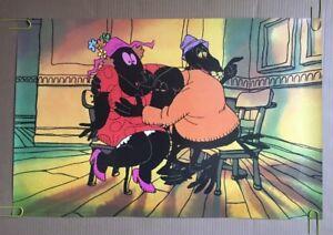 Steve Krantz Original Vintage Poster The Crow Bar Breast Bird 1970's Pop Art 70s