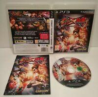 Street Fighter x Tekken - Jeu PS3 Region Free Français -Comme neuf -Complet