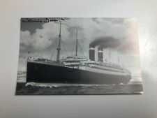 Post Card Of The SS Lapland, Signed by Millvina Dean No 7/100