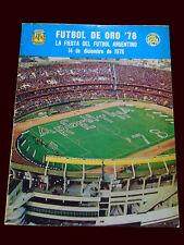 FIFA WORLD CUP ARGENTINA Program December 1978