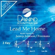 JAMEY JOHNSON / FREEMANS  - LEAD ME HOME - ACCOMPANIMENT  CD NEW