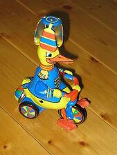Ente auf Dreirad, Original Schylling USA, Blech