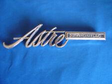 1974 75 76 77 Pontiac Astre Fender Emblem Script 738996