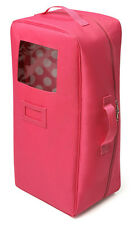 Badger Basket PINK DOLL TRAVEL CASE w/Bed & Bedding *NIP/NEW* Fits American Girl