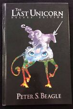 The Last Unicorn Deluxe Edition Hardcover First Edition Peter S. Beagle IDW NEW