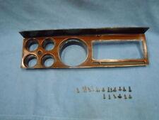 75-80 Dodge Pickup Truck 4x4 Wood Grain Instrument Cluster Dash Bezel Face Plate