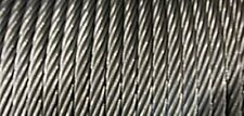 "3/16"" 7x19 Stainless Steel Cable x 500 ft."