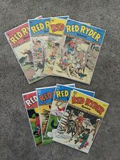 Lot of 8 Red Ryder Dell Western Comics (1947-1948) - #49 51 54 55 57 59 62 63