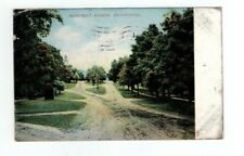 VT Bennington Vermont 1909 antique post card Monument Avenue View