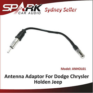 SP Antenna Adapter Radio Lead Male Din Plug For Holden Captiva 7 Epica 2006-2015