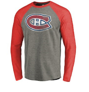 NHL CCM Montreal Canadiens Vintage Hockey Shirts New Mens SMALL MSRP $35